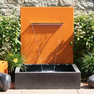 Gartenspringbrunnen Design