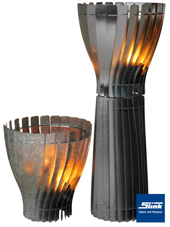 Designer-Feuerschale Glow